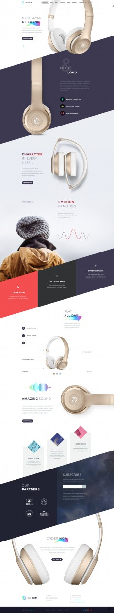 TheGem – Creative Product Landing Page