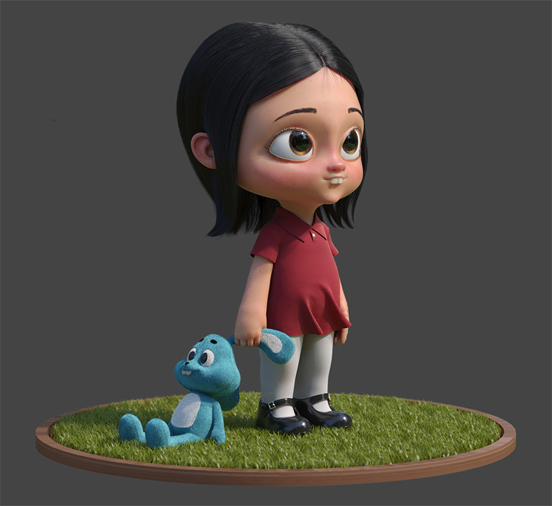3d Character Design Behance : Amazing d character designs by gustavo soares on