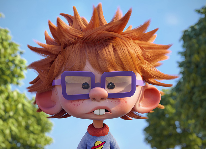 Amazing 3D Character Designs by Gustavo Soares