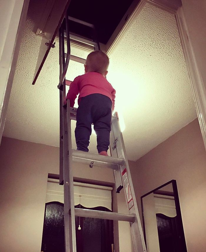 Dad Photoshops His Kid into Marginally Dangerous Situations
