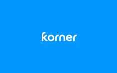 Korner Logo Wordmark by Matis Branding ( Algirdas Matijosaitis )