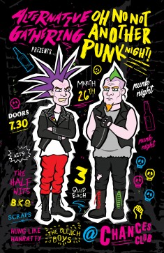 Oh No Not Another Punk Night by Ashwin Kandan
