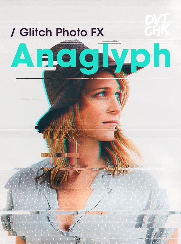 Anaglyph – Glitch Photo FX