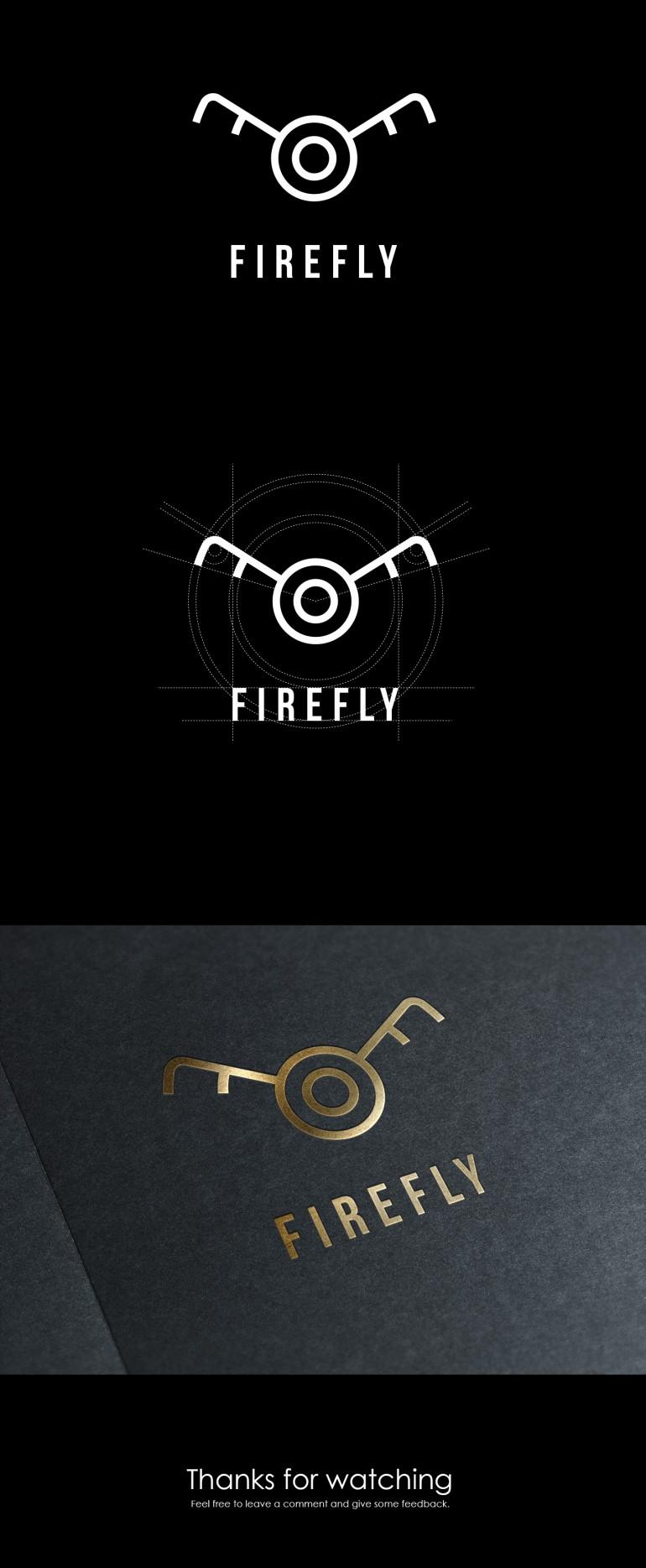 Firefly logo Design by Kevin van Eijk