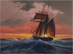 Hyper Realistic Oil Paintings of Marine