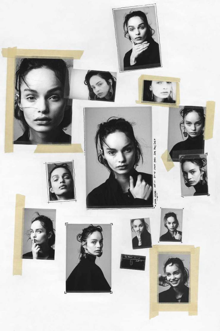 Luma Grothe by Ben Morris for Elle Russia August 2015