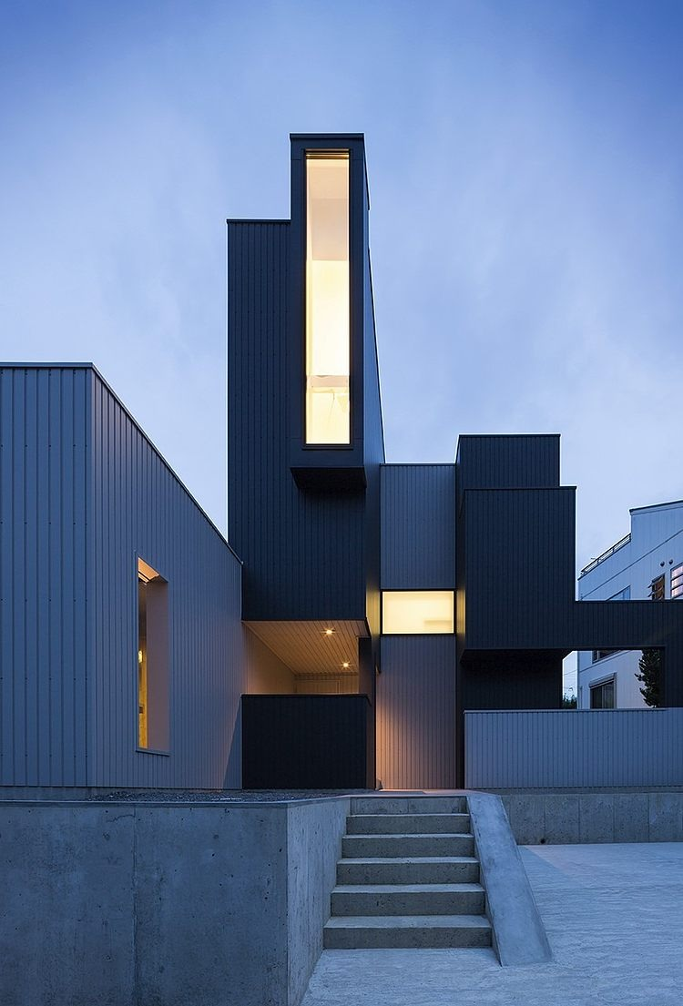 Scape house by form kouichi kimura architects on for Form architecture