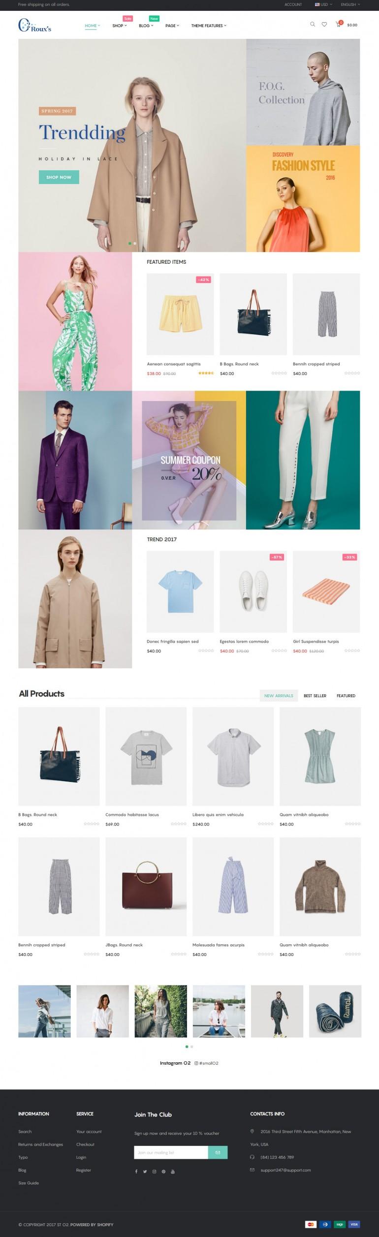 O2 Fashion Store