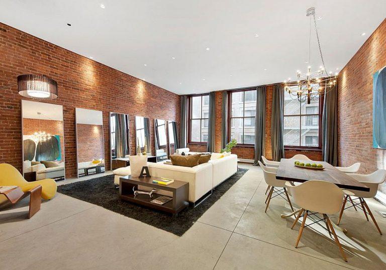 Stunning Brick Wall Interior Design Ideas