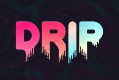 Drip – Liquid Font