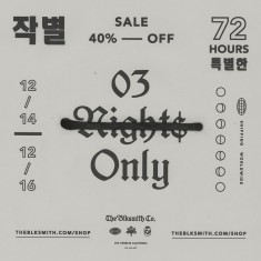 03 Nights Only Sale