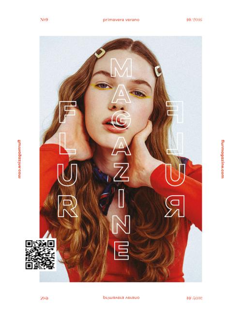 Flur Magazine, editorial design, 2016