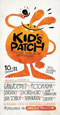 Kids-patch Poster
