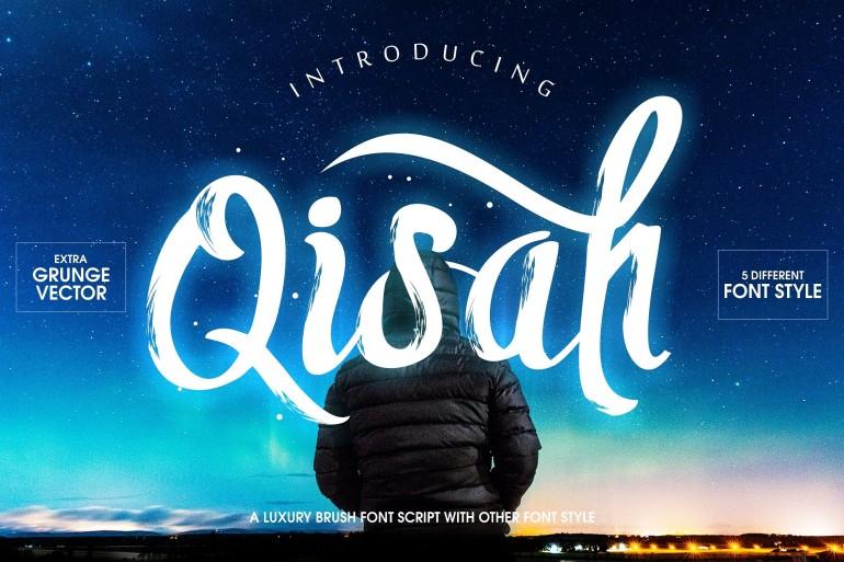 Qisah Typeface