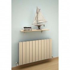 Stylish horizontal radiator