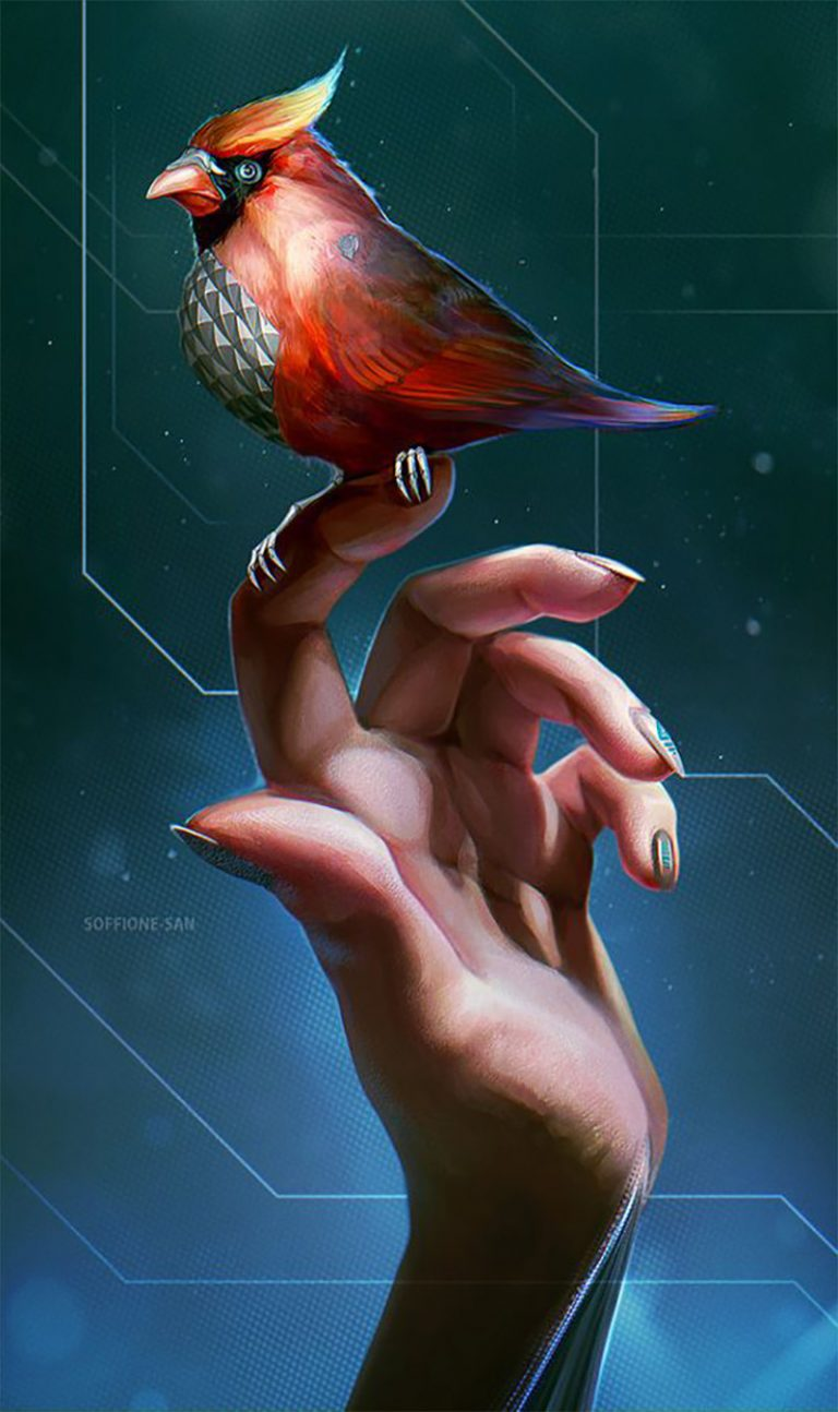 Robo Bird by Dandelion