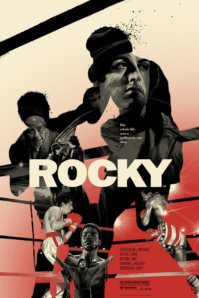 Rocky Poster Design