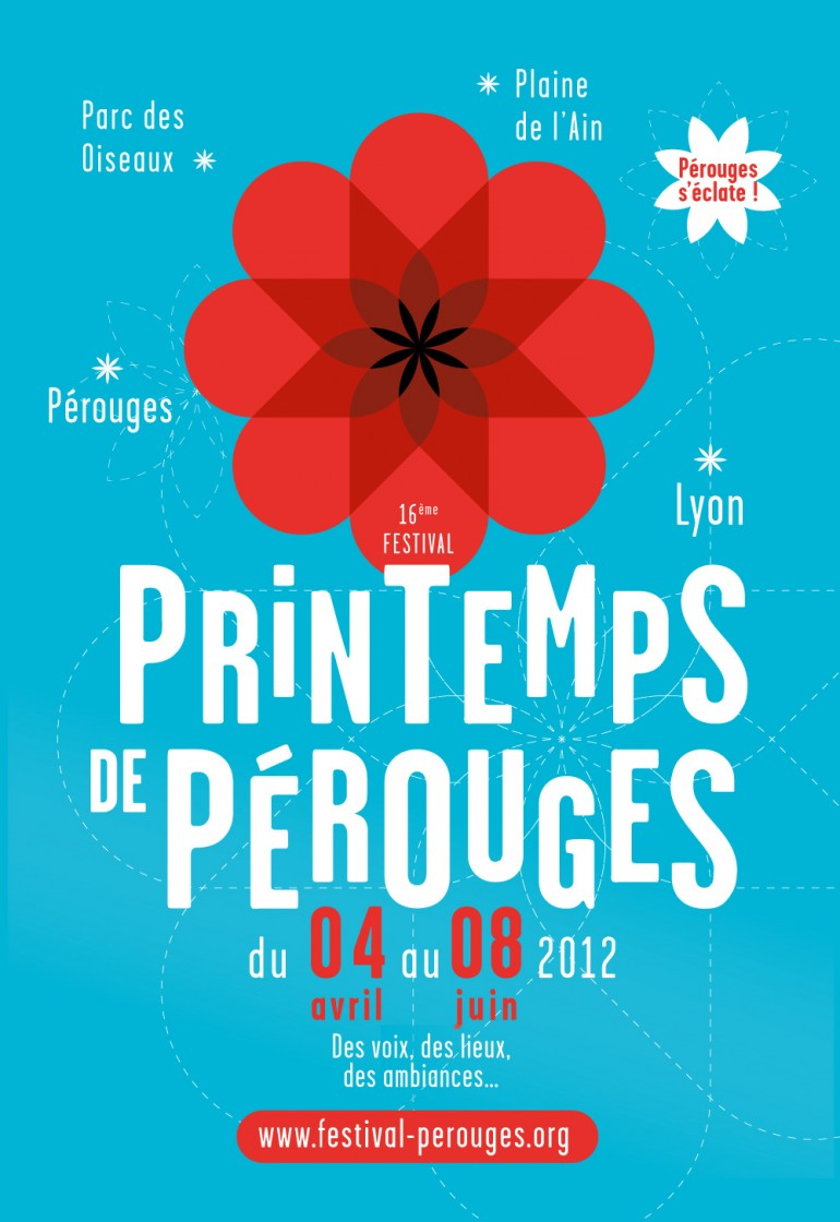 Spring Festival of Pérouges – Brand identity