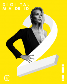 DIGITAL MADRID 2 poster by KaCeyKal