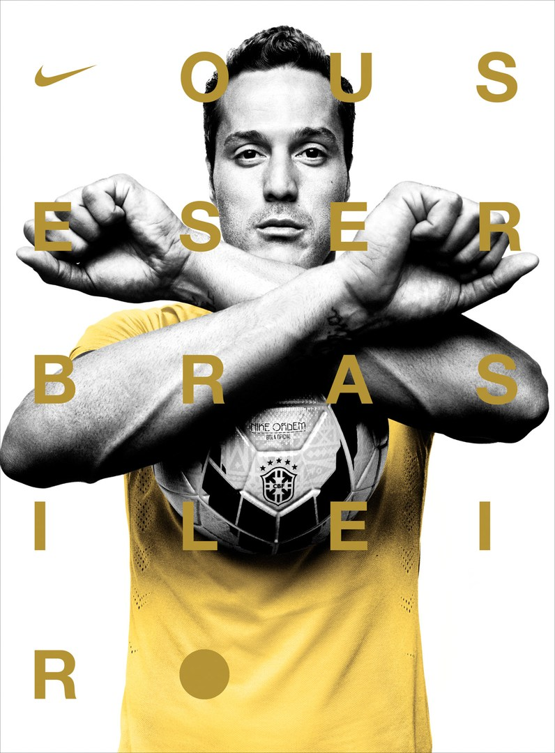 PLATON'S NIKE PHOTOGRAPHS OF BRAZIL'S NATIONAL FOOTBALL TEAM