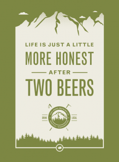 Two Beers Brewing Co : Poster