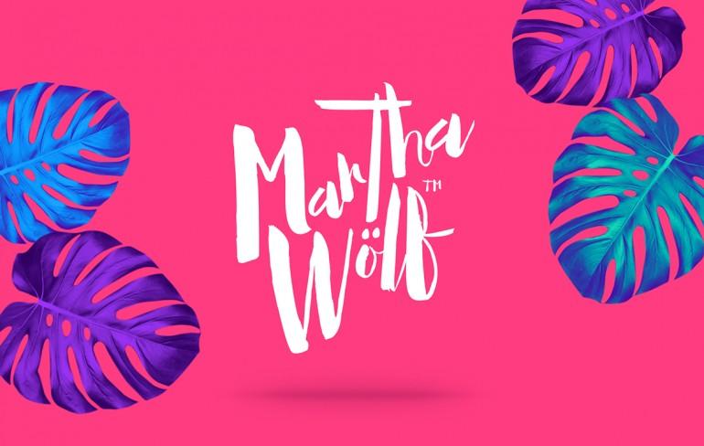 Diseño y Concepción de la Marca de ropa Martha Wölf. Creación de nombre comercial y diseño de la ...