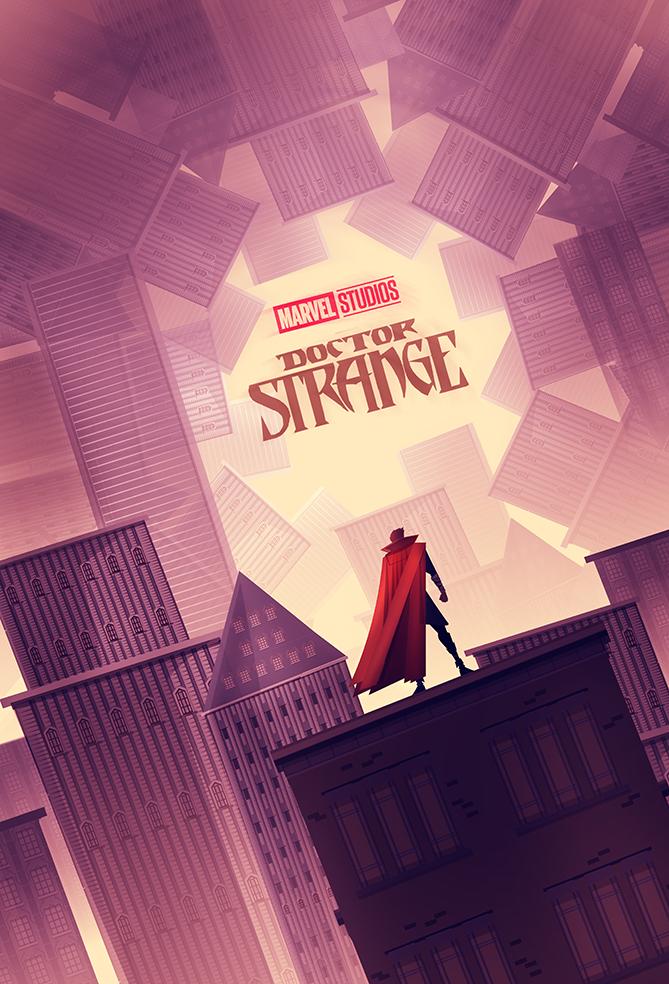 Doctor Strange Poster Fan Art
