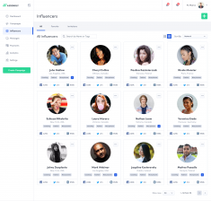 Influencers Page by Mateusz Dembek