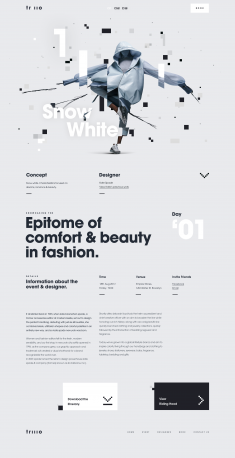 Fashion Details Page by Johan Adam Horn