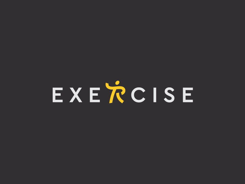 Exercise logo by Dimitrije Mikovic