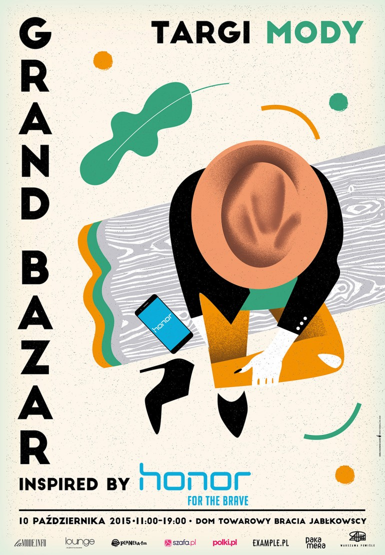 Grand Bazar poster set 2014-15