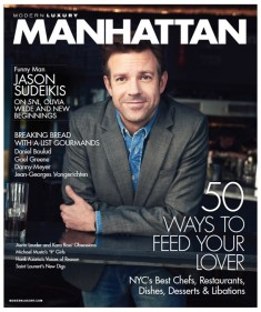 Jason Sudeikis Covers the July Issue of Manhattan Magazine