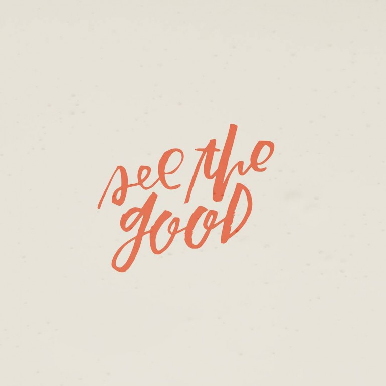 Goodness is everywhere. Sometimes you really have to look, but it's there.
