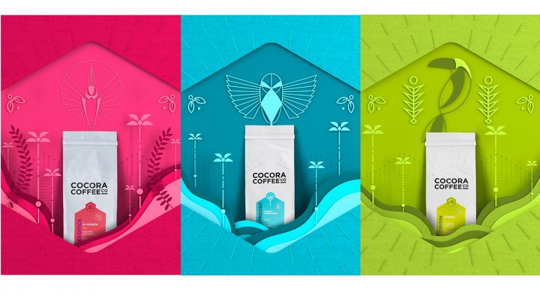 Cocora Coffee Co Packaging & Branding