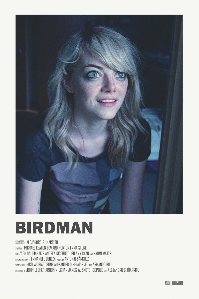 Birdman alternative movie poster