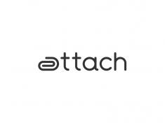 Attach Logo Design by Paulius Kairevicius