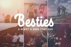 Besties – Font Duo