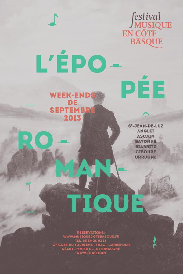 Poster Festival Musique en cote basque