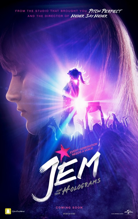 Jem and the Holograms Movie Poster