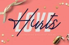 Love Hurts – Ballpoint Script
