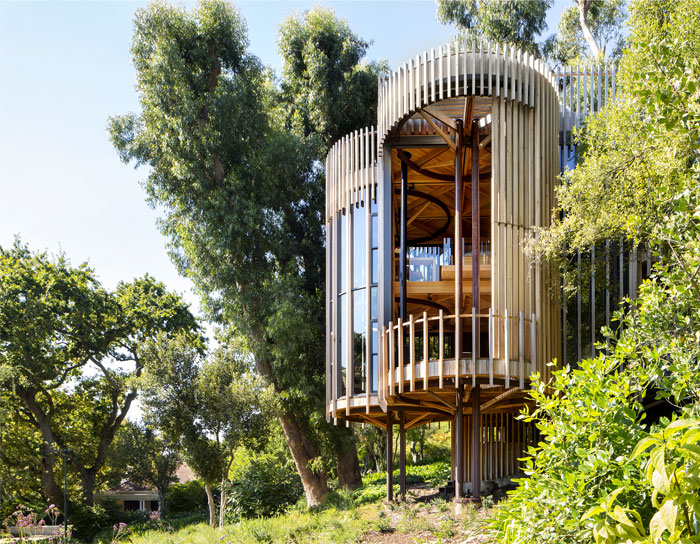 A Small Wood Home in The Forests Near Cape Town