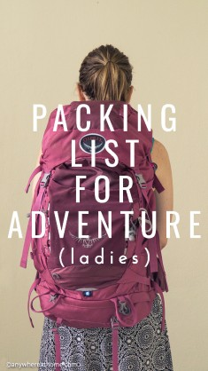 Michelle's Packing List