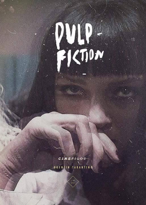 Pulp Fiction Poster Design