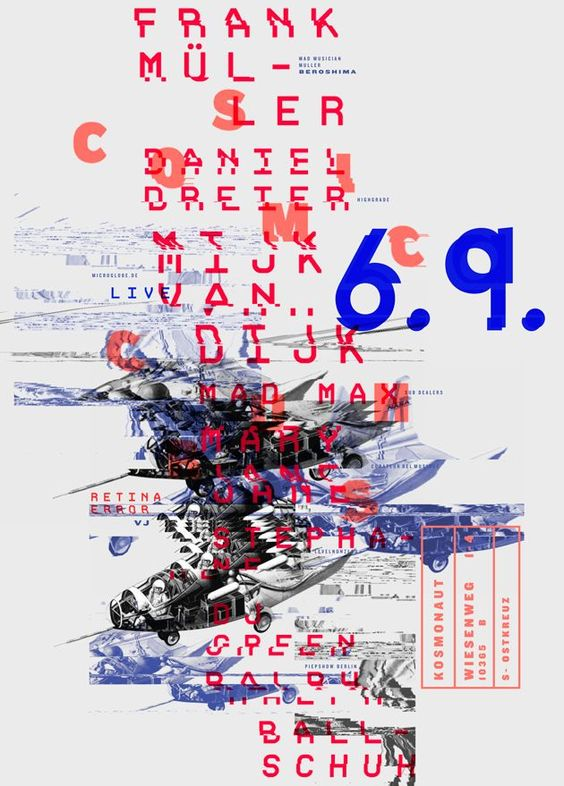 Poster typographic by Patrick Dreier