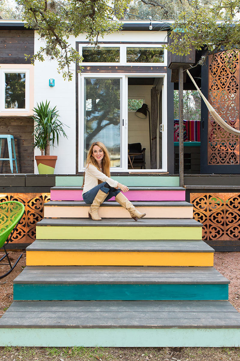 A 400-Square-Foot House in Austin Packed with Big Ideas – Small Spaces