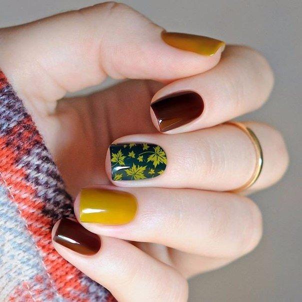 Beautiful Nail Art Ideas For Fall 2017