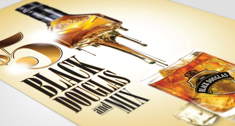 Creative Alcohol poster Design