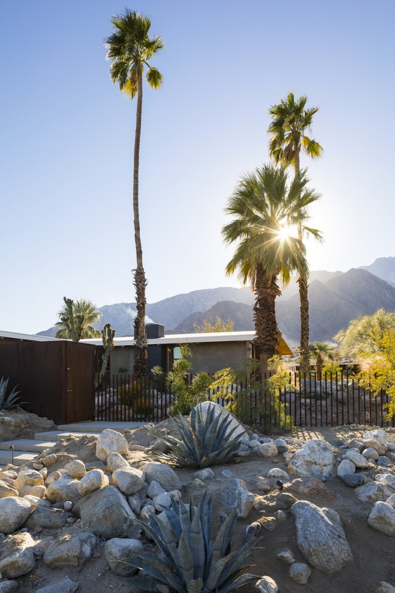 1954 Custom-Built Home Renovated by Hundred Mile House in Palm Springs, California