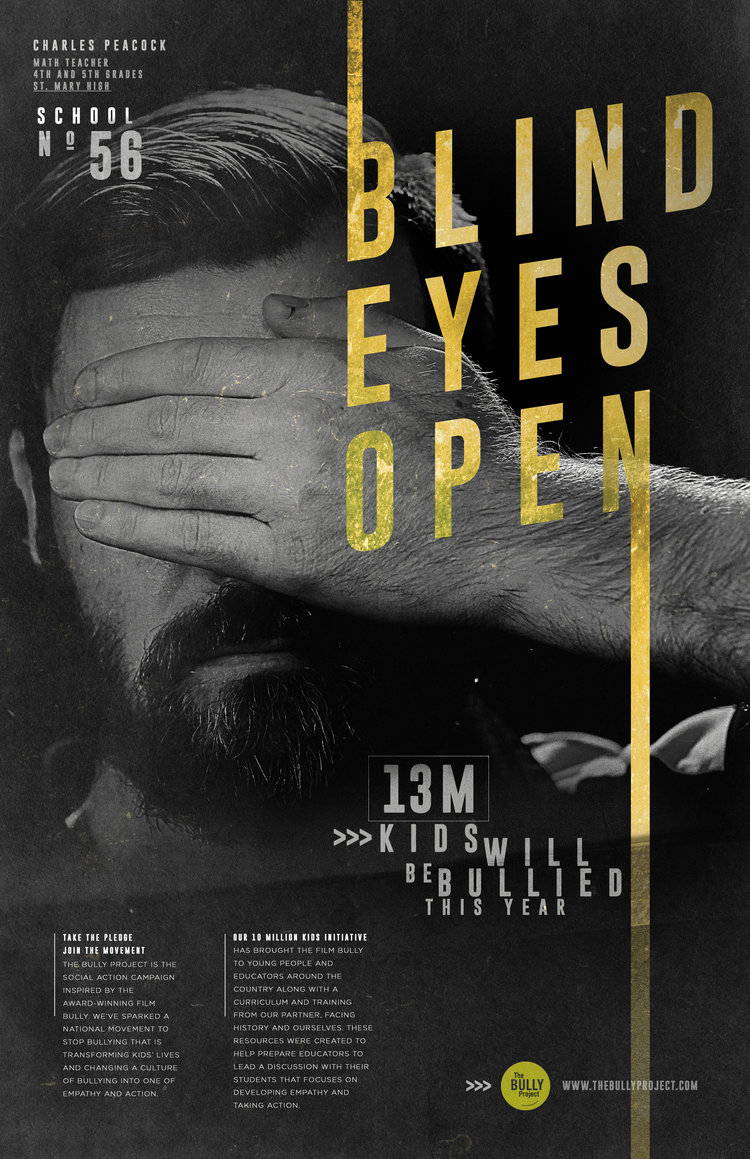 BLIND EYES OPEN – Anti-Bullying Campaign