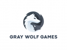 Gray Wolf Games – Logo by Jord Riekwel
